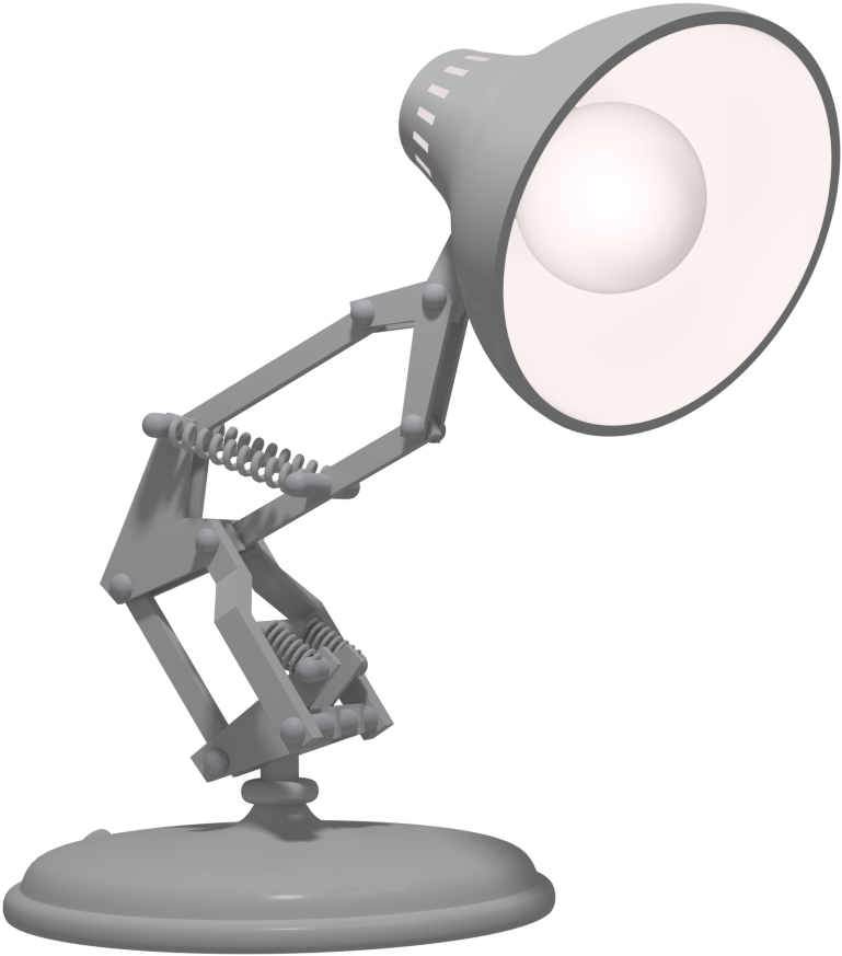 Image of desk lamp facing Spotlight Employee